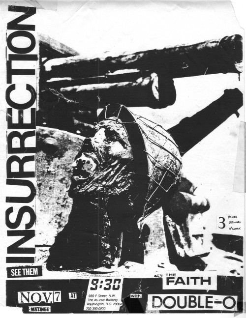 Insurrection-Faith-Double O @ Washington DC 11-7-UNKNOWN YEAR
