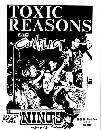 Toxic Reasons-Conflict @ Santa Fe NM 1-27-UNKNOWN YEAR