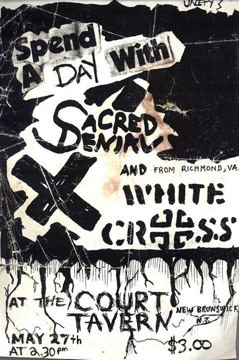Sacred Denial-White Cross @ New Brunswick NJ 5-27-UNKNOWN YEAR