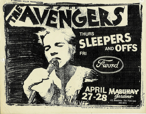 Avengers-Sleepers-Offs @ San Francisco CA 4-27-UNKNOWN YEAR