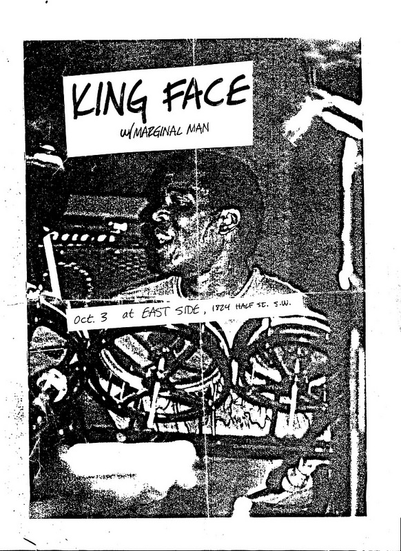 King Face-Marginal Man @ Washington DC 10-3-87