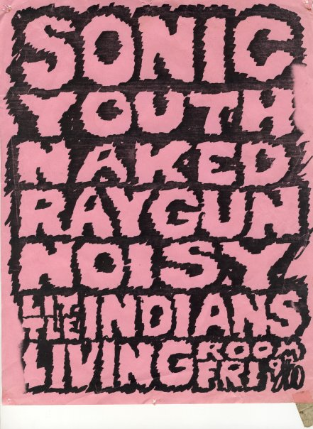 Sonic Youth-Naked Raygun-Noisy Little Indians @ Providence RI 9-11-87