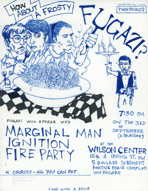 Fugazi-Marginal Man-Ignition-Fire Party @ Washington DC 9-3-87