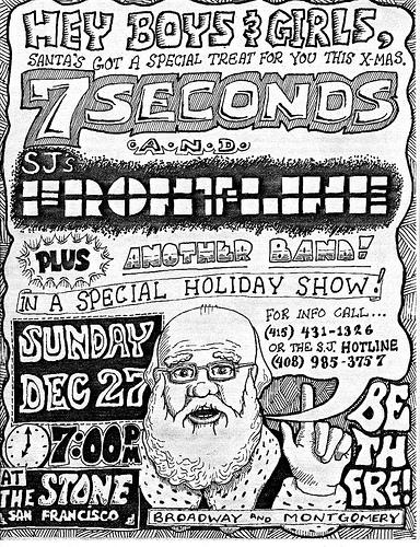 7 Seconds-Frontline @ San Francisco CA 12-27-87