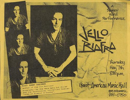 Jello Biafra @ San Francisco CA 5-7-87