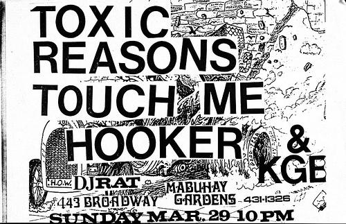 Toxic Reasons-Touch Me-Hooker @ San Francisco CA 3-29-87