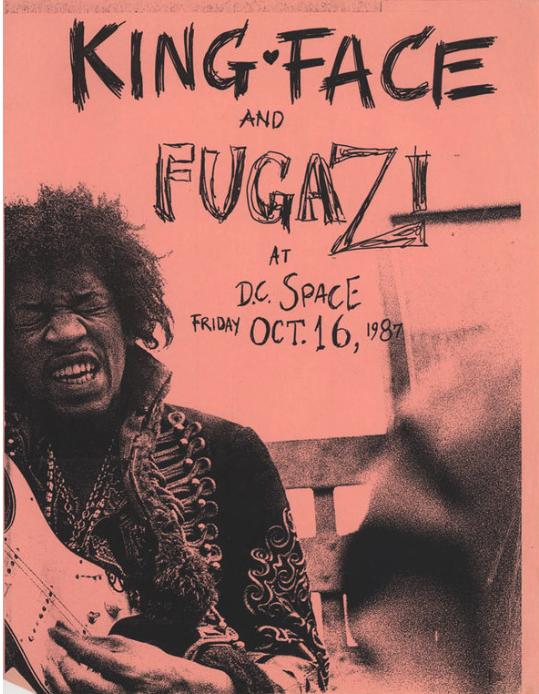 Fugazi-King Face @ Washington DC 10-16-87