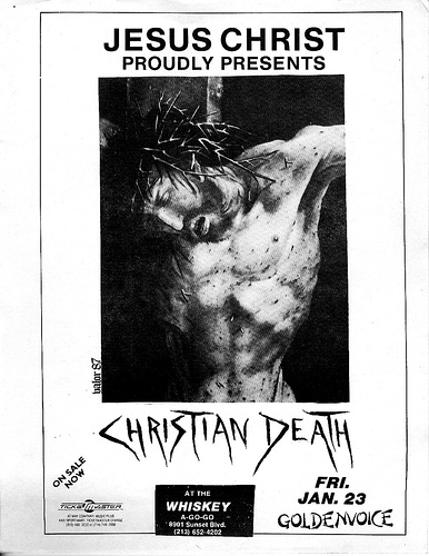 Christian Death @ Hollywood CA 1-23-87