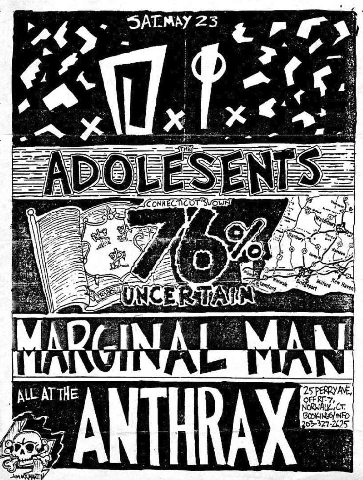 DI-Adolescents-76% Uncertain-Marginal Man @ Norwalk CT 5-23-87