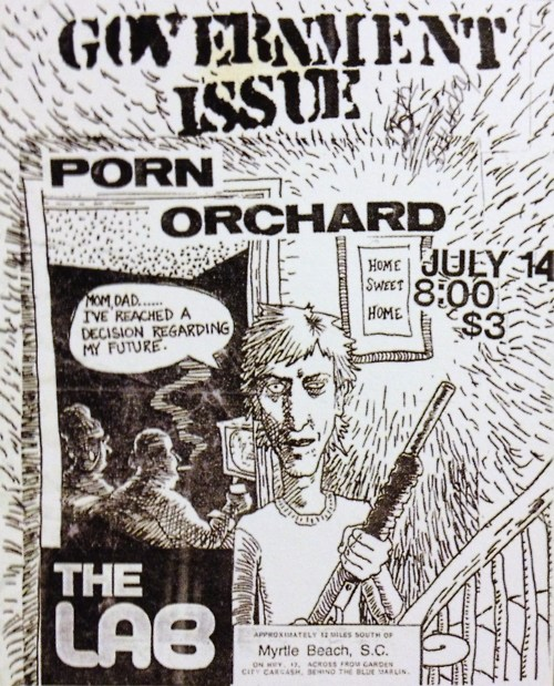 Government Issue-Porn Orchard @ Myrtle Beach SC 7-14-87