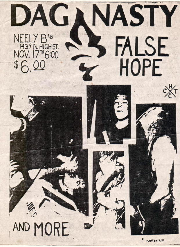 Dag Nasty-False Hope @ New Haven CT 11-17-87