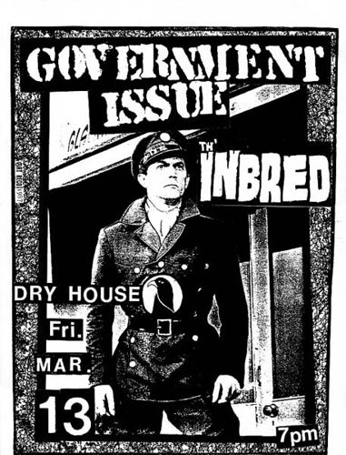 Government Issue-The Inbred @ Washington DC 3-13-87