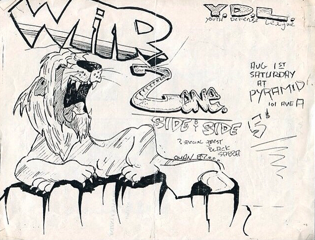War Zone-Side By Side-Youth Defense League @ New York City NY 8-1-87