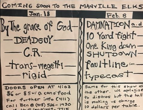By The Grace Of God-Deadguy-CR-Transmegetti-Rigid @ Manville NJ 1-18-97