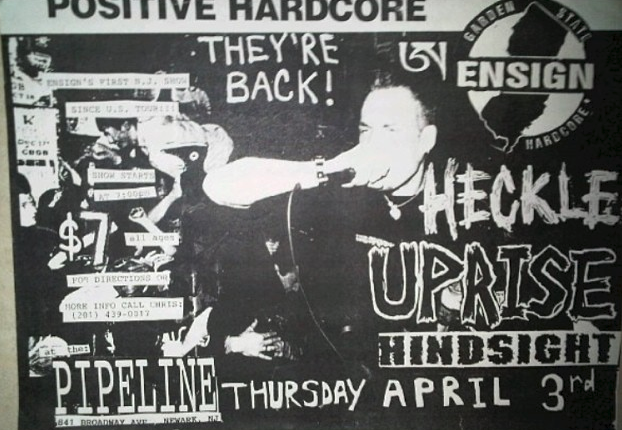 Ensign-Heckle-Uprise-Hindsight @ Newark NJ 4-3-97