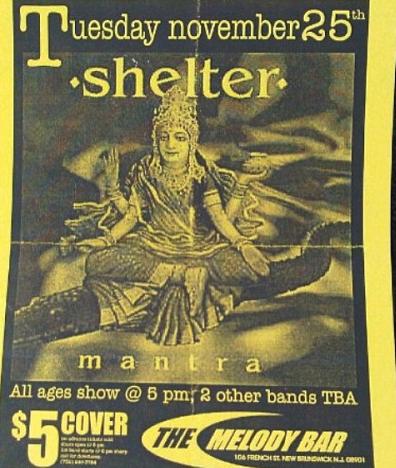 Shelter @ New Brunswick NJ 11-25-97