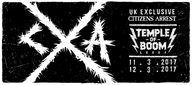 Citizens Arrest @ Leeds England 3-11-17