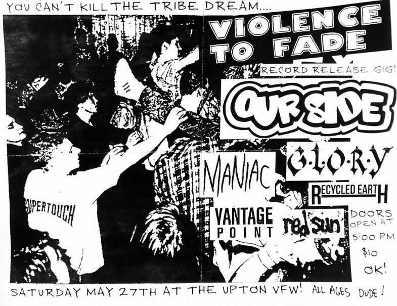 Violence To Fade-Our Side-Maniac-Glory-Recycled Earth-Vantage Point-Red Sun @ Upton MA 5-27-17