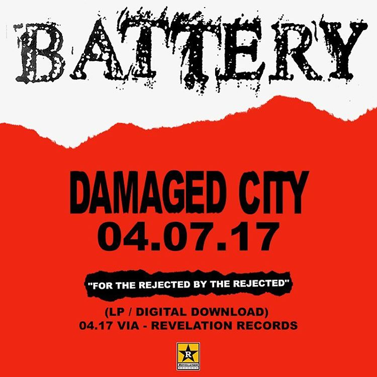 Battery @ Washington DC 4-7-17