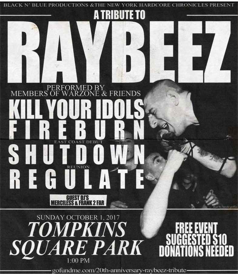 War Zone Tribute-Kill Your Idols-Fireburn-Shutdown-Regulate @ New York City NY 10-1-17