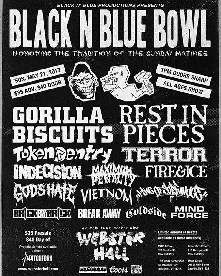 Black N Blue Bowl 5-21-17