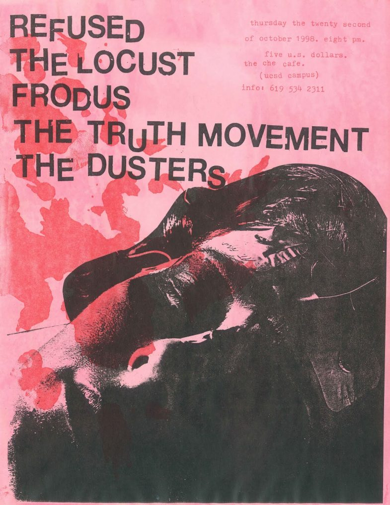 Refused-The Locust-Frodus-The Truth Movement-The Dusters @ San Diego CA 10-23-98