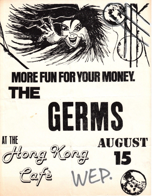 The Germs @ Los Angeles CA 8-15-78