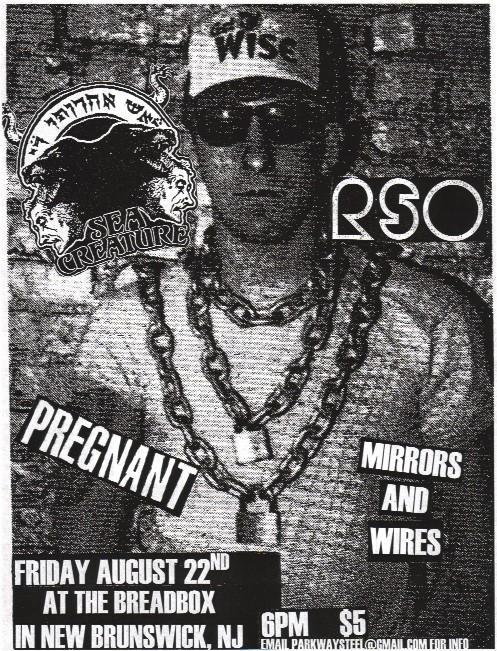 Sea Creature-Pregnant-Mirrors & Wires @ New Brunswick NJ 8-22-08