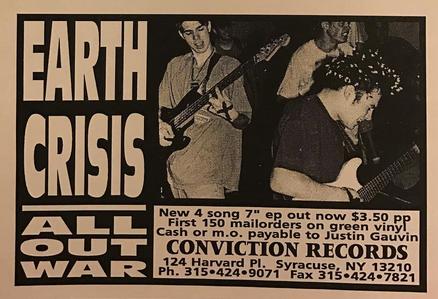 Earth Crisis (Conviction Records)