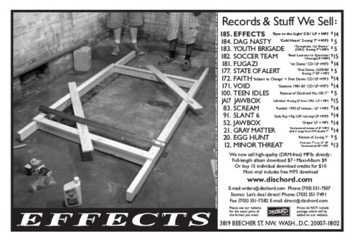 Effects (Dischord Records)