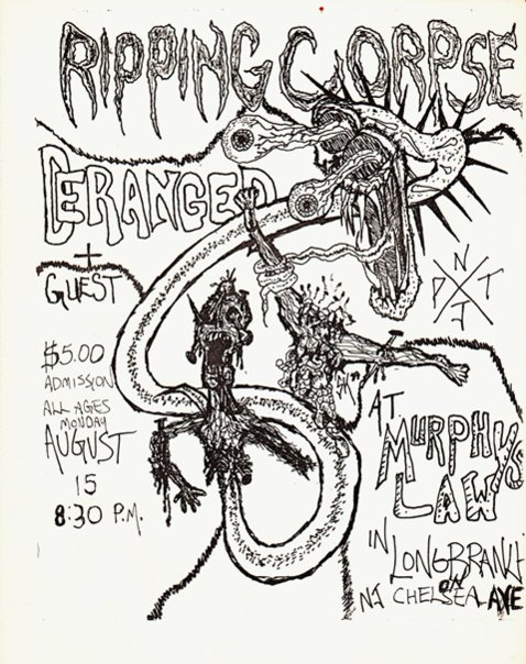 Ripping Corpse-Deranged @ Long Branch NJ 8-15-88