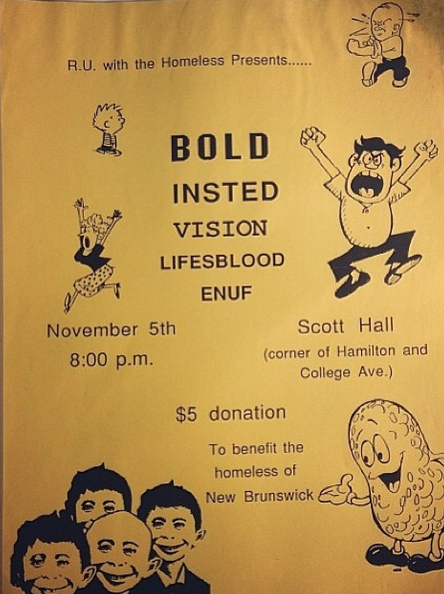 Bold-Insted-Vision-Life's Blood-Enuf @ New Brunswick NJ 11-5-88