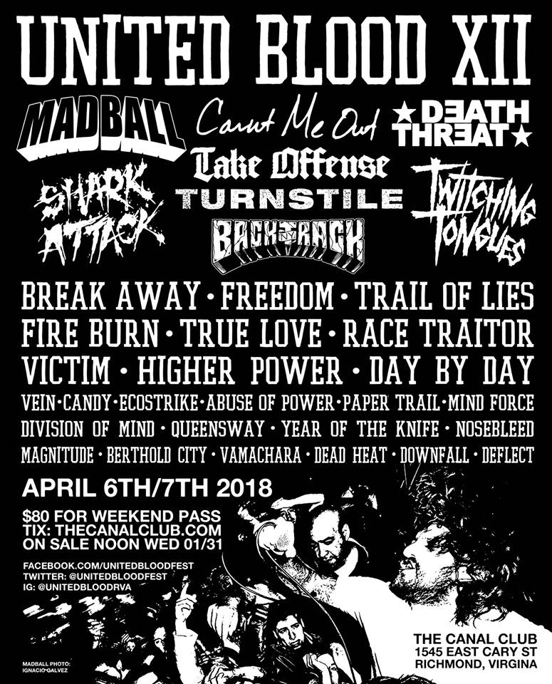 United Blood Fest 2018
