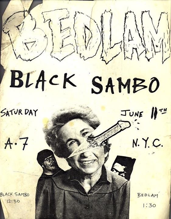 Bedlam-Black Sambo @ New York City NY 6-11-83