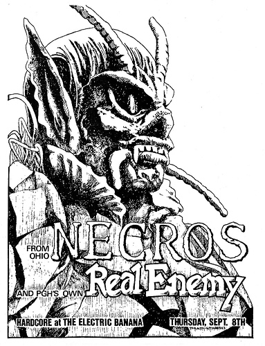 Necros-Real Enemy @ Pittsburgh PA 9-8-88