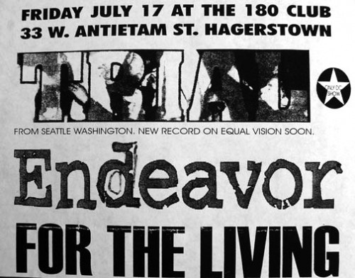 Trial-Endeavor-For The Living @ Hagerstown MD 7-17-98