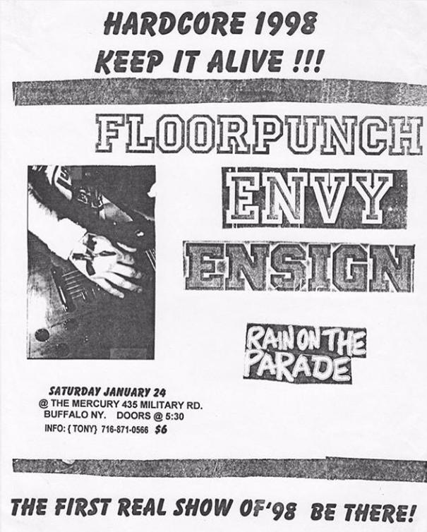 Floorpunch-Envy-Ensign-Rain On The Parade @ Buffalo NY 1-24-98