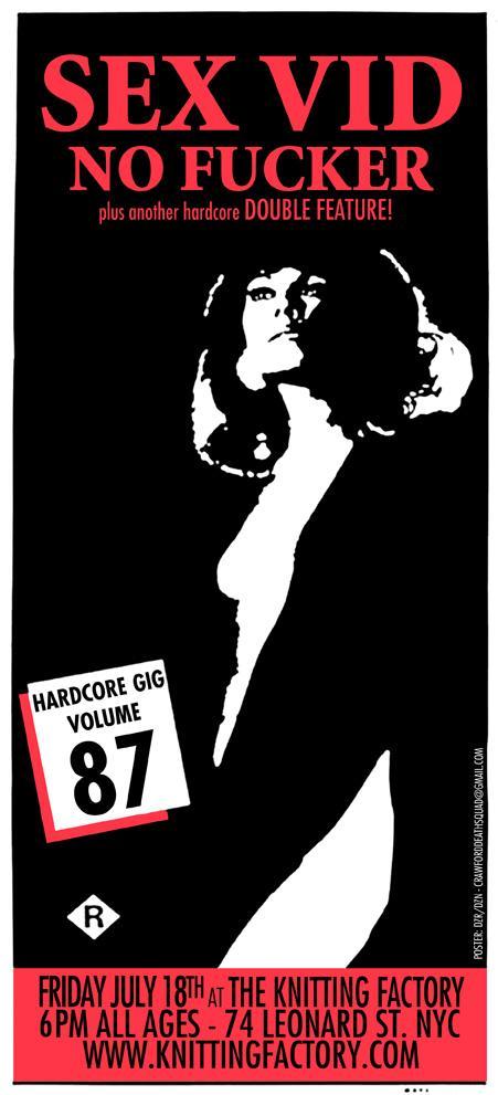 Sex Vid-No Fucker @ New York City NY 7-18-08