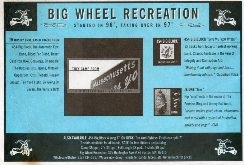 Big Wheel Recreation Records