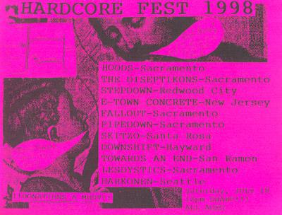 Hardcore Fest 1998