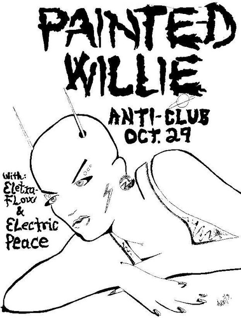 Painted Willie-Eletra Flow-Electric Peace @ Los Angeles CA 10-29-87