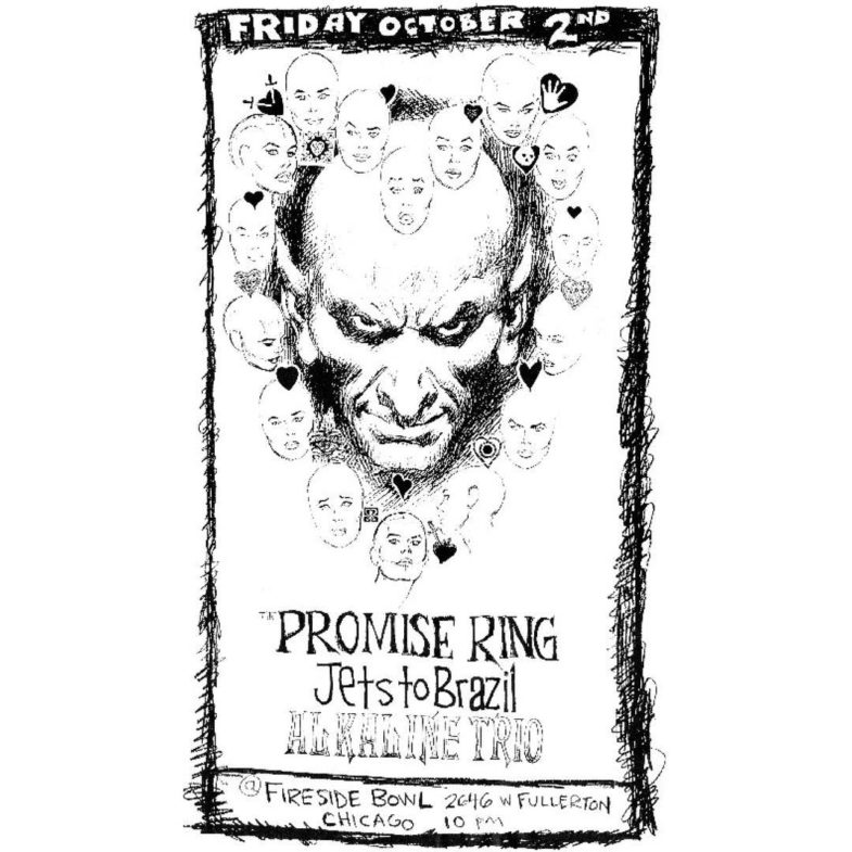 The Promise Ring-Jets To Brazil-Alkaline Trio @ Chicago IL 10-2-98
