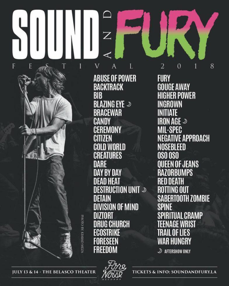 Sound & Fury 2018
