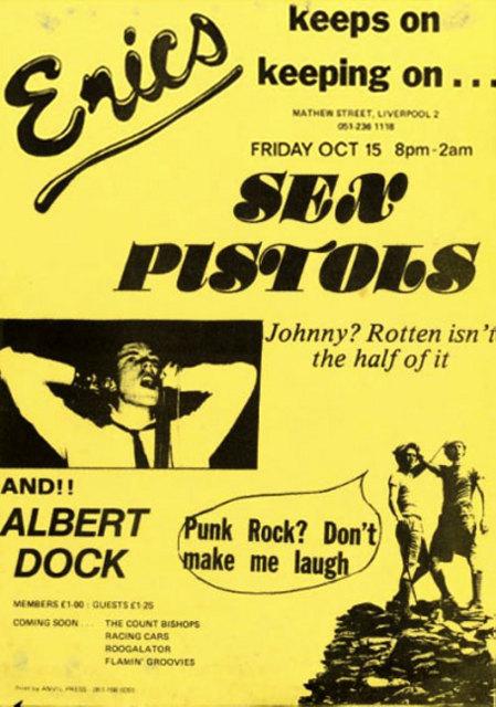 Sex Pistols-Albert Dock @ Liverpool England 10-15-76