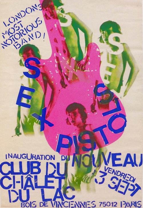 Sex Pistols @ Paris France 9-3-76