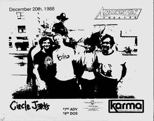 Circle Jerks @ Santa Barbara CA 12-20-88