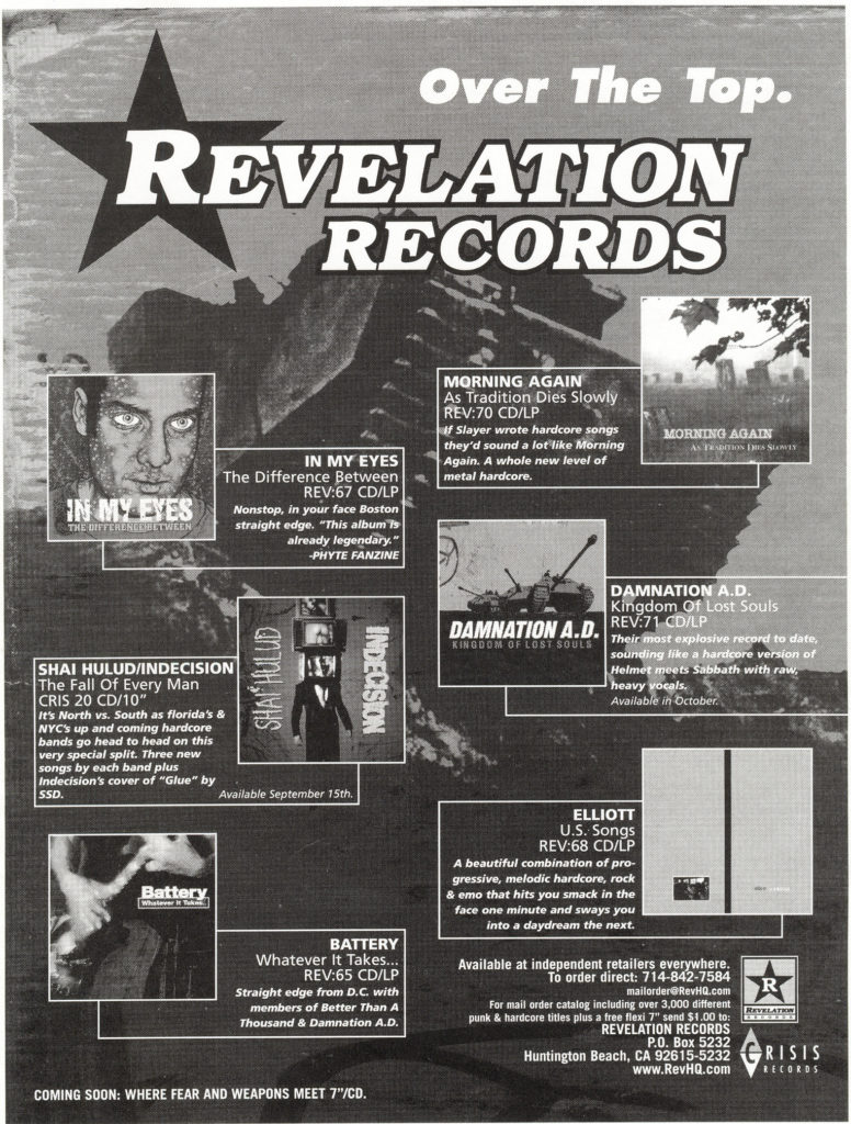Revelation Records 1998