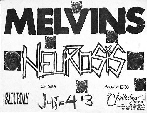 Melvins-Neurosis @ San Francisco CA 6-4-88