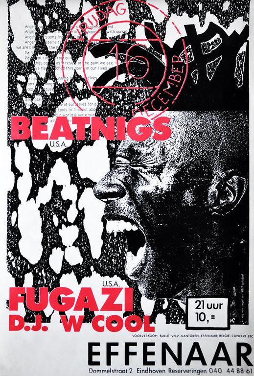 Fugazi-Beatnigs @ Lubeck Germany 10-21-88