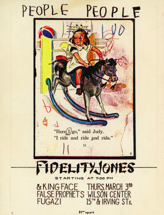 Fugazi-False Prophets-King Face-Fidelity Jones @ Washington DC 3-3-88